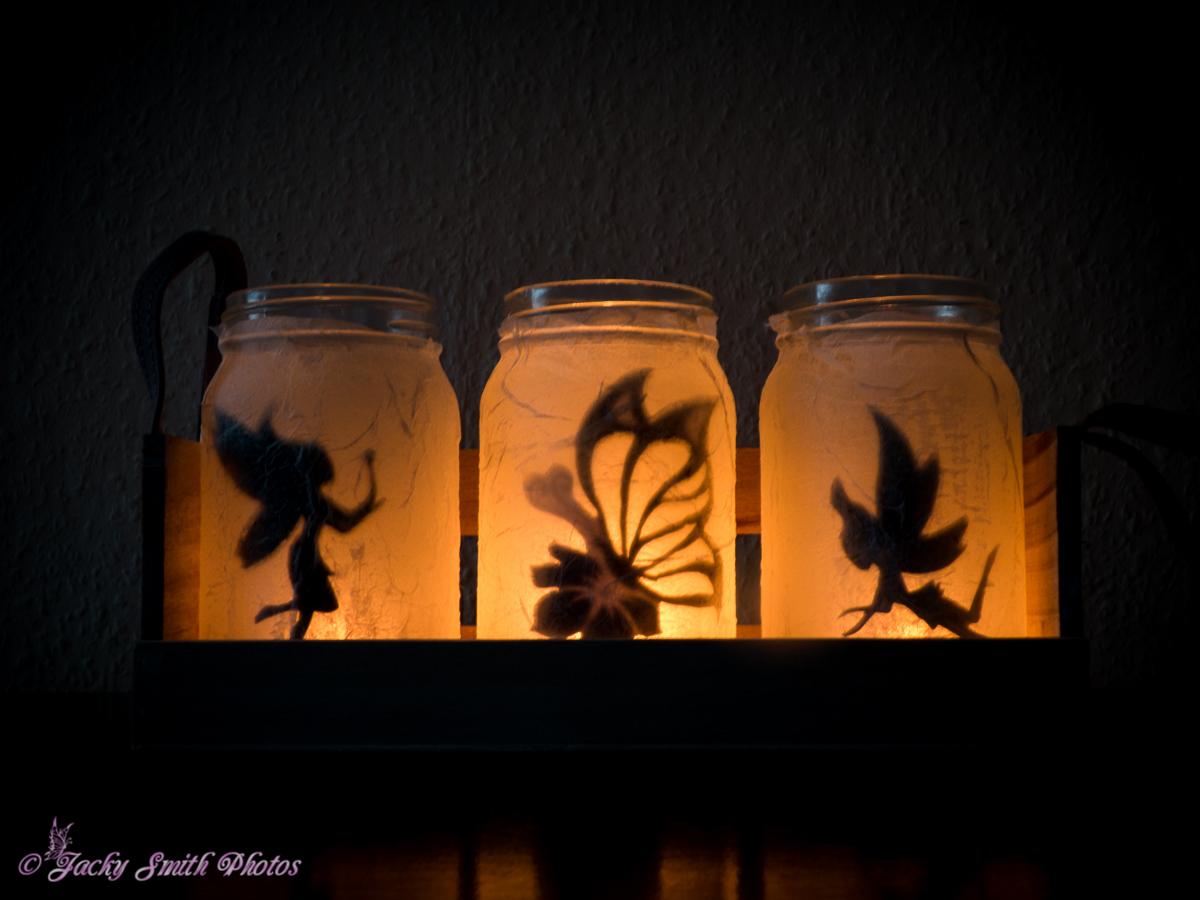 Hervorragend Projekt: Elfe im Glas (Windlicht) « www.jacky-smith.de DZ97